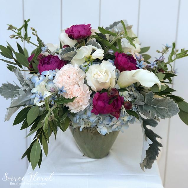 Peony Hydrangea Flower Delivery
