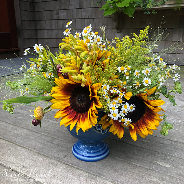 Boho Wildflower Nantucket Delivery – Nantucket Florist