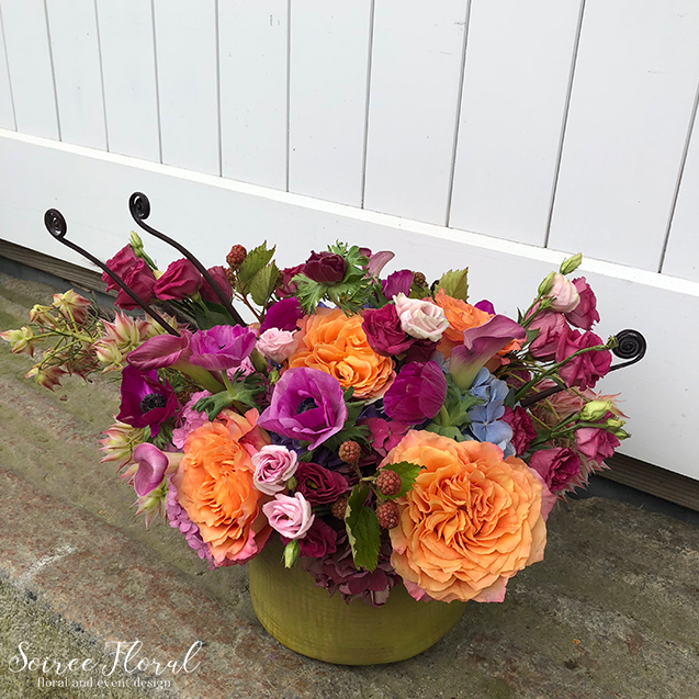 Juicy Summer Colors – Floral Delivery – Nantucket Florist