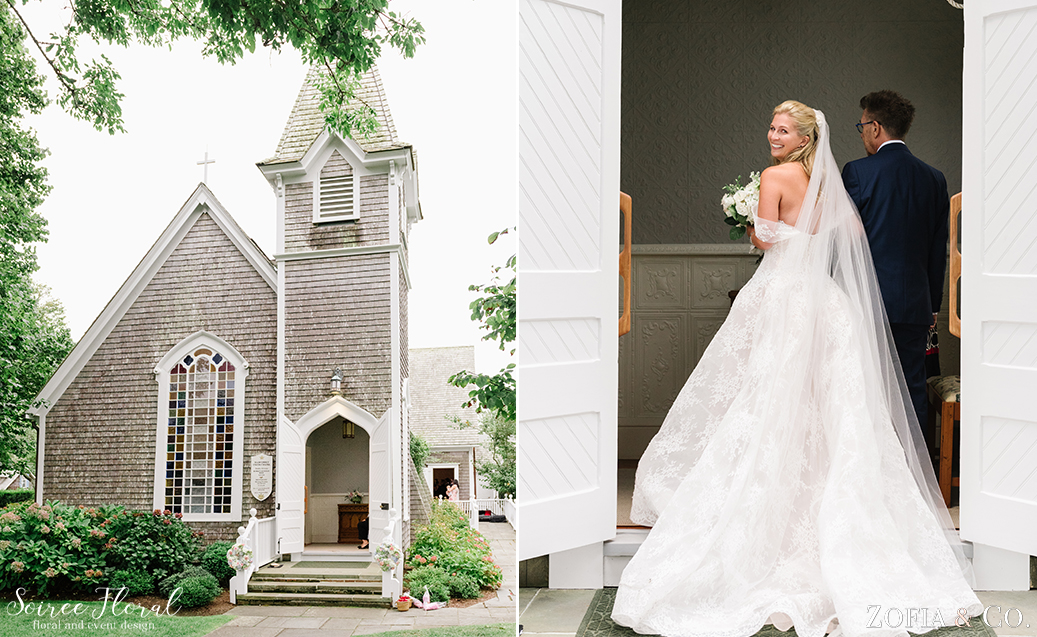Sconset Chapel Wedding – Soiree Floral – Zofia Photo 1