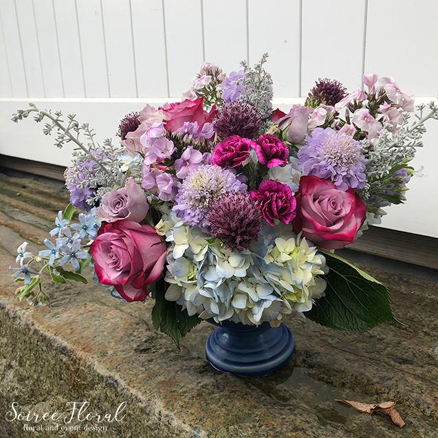 Shades of Purple – Nantucket Flower Delivery – Nantucket Florist