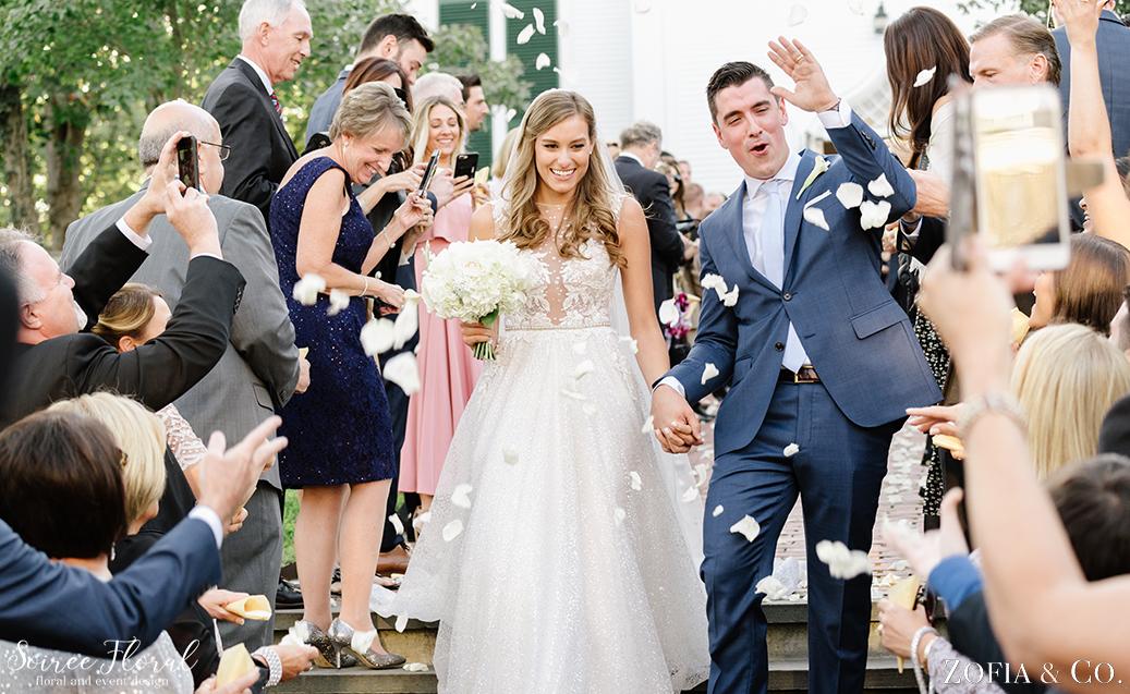 White Wedding Flowers – Nantucket Wedding – Soiree Floral – Zofia Photo 3