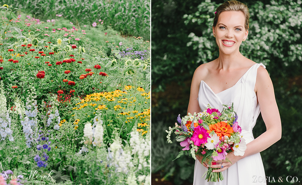 Wildflower Nantucket Wedding – Soiree Floral – Zofia Photo1