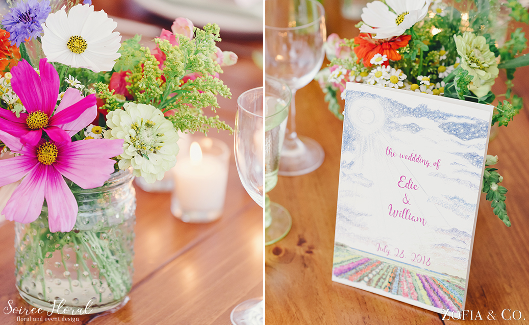 Wildflower Nantucket Wedding – Soiree Floral – Zofia Photo5