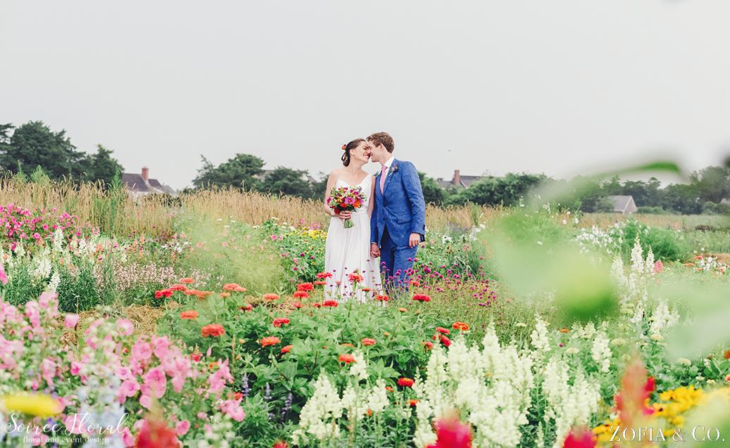 Wildflower Nantucket Wedding – Soiree Floral – Zofia Photo8