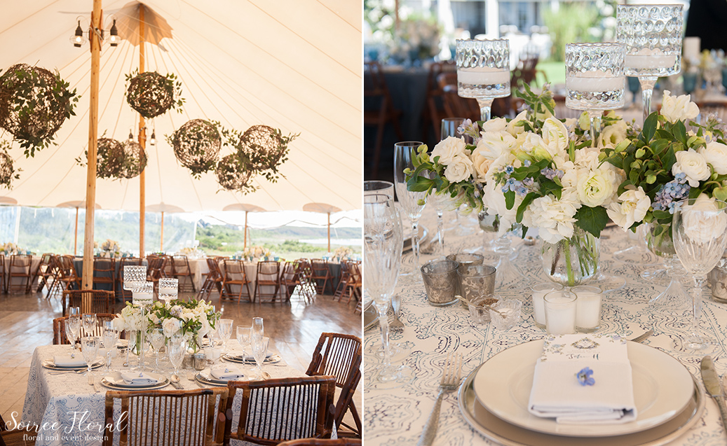 Blue and White Wedding at Wauwinet – Nantucket – Soiree Floral 20