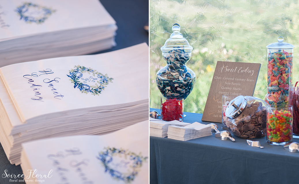 Blue and White Wedding at Wauwinet – Nantucket – Soiree Floral 23
