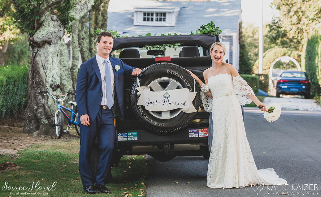 Blue and White Wedding at Wauwinet – Nantucket – Soiree Floral 7