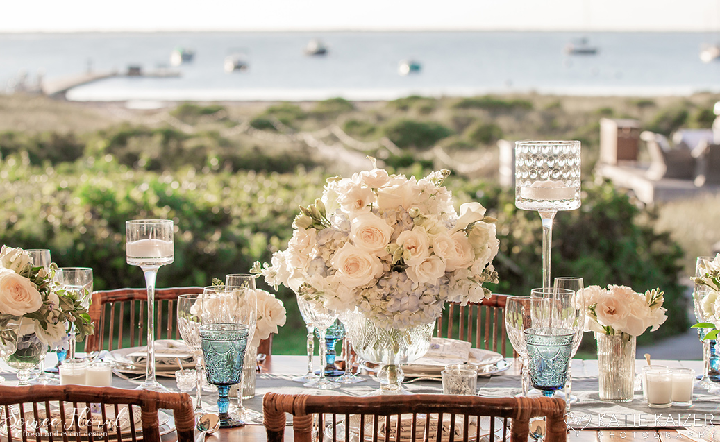 Blue and White Wedding at Wauwinet – Nantucket – Soiree Floral 9