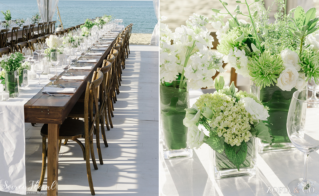 Green and White Nantucket Wedding – Soiree Floral – Zofia Photo10