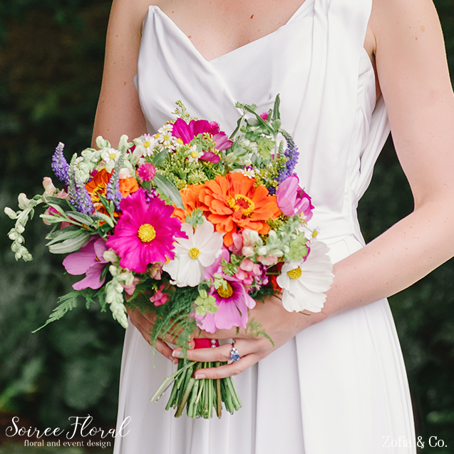 Wildflower Colorful Bouquet