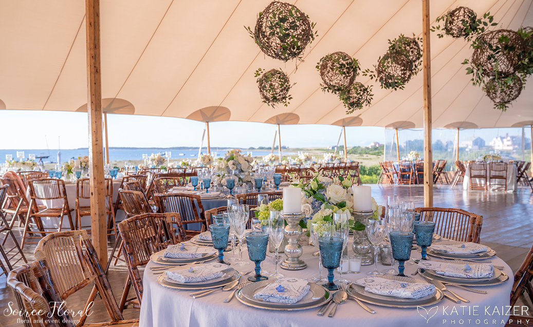 Blue and White Wedding at Wauwinet – Nantucket – Soiree Floral 8