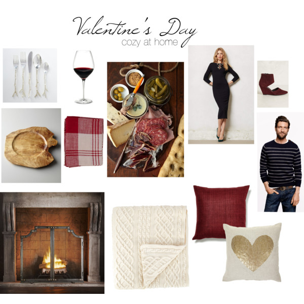 Valentine's Day - Cozy at home