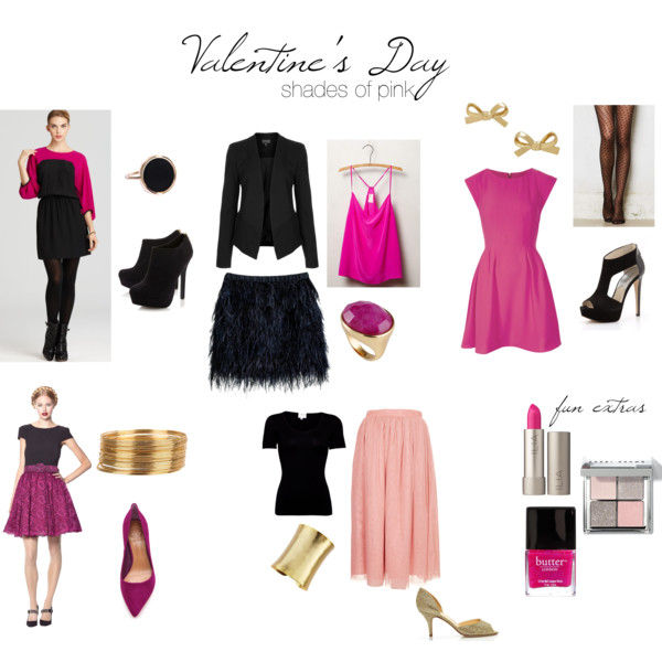 Valentine's Day - Shades of Pink