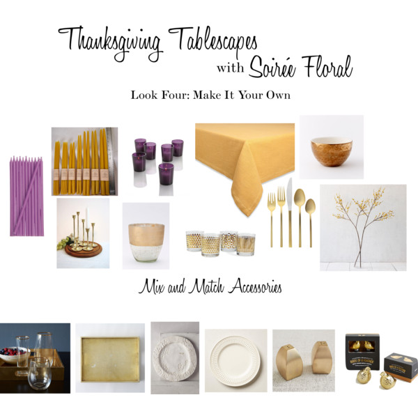 Thanksgiving Tablescapes with Soirée Floral - Look Four