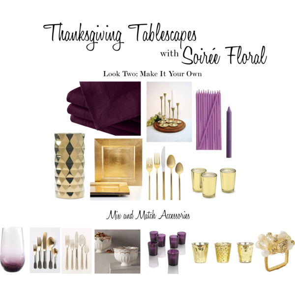 Thanksgiving Tablescapes with Soirée Floral - Look Two