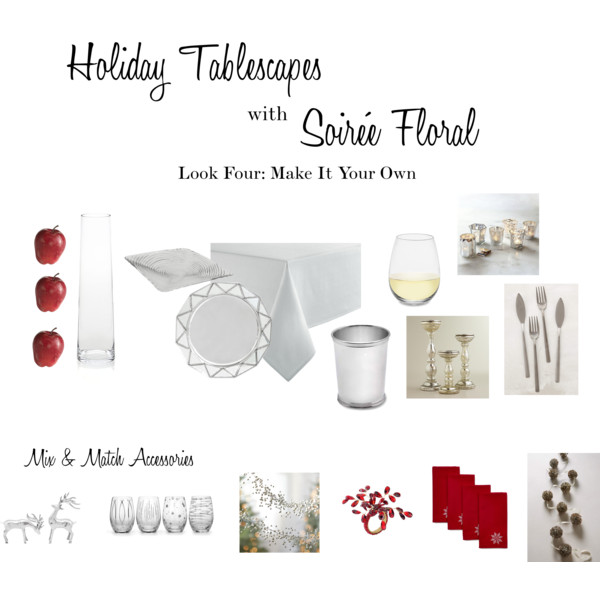 Holiday Tablescapes with Soirée Floral - Look Four