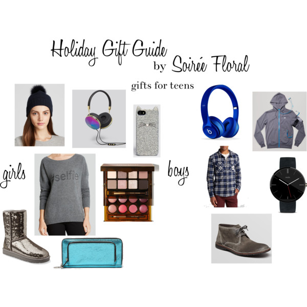 Holiday Gift Guide by Soirée Floral - Gifts for Teens