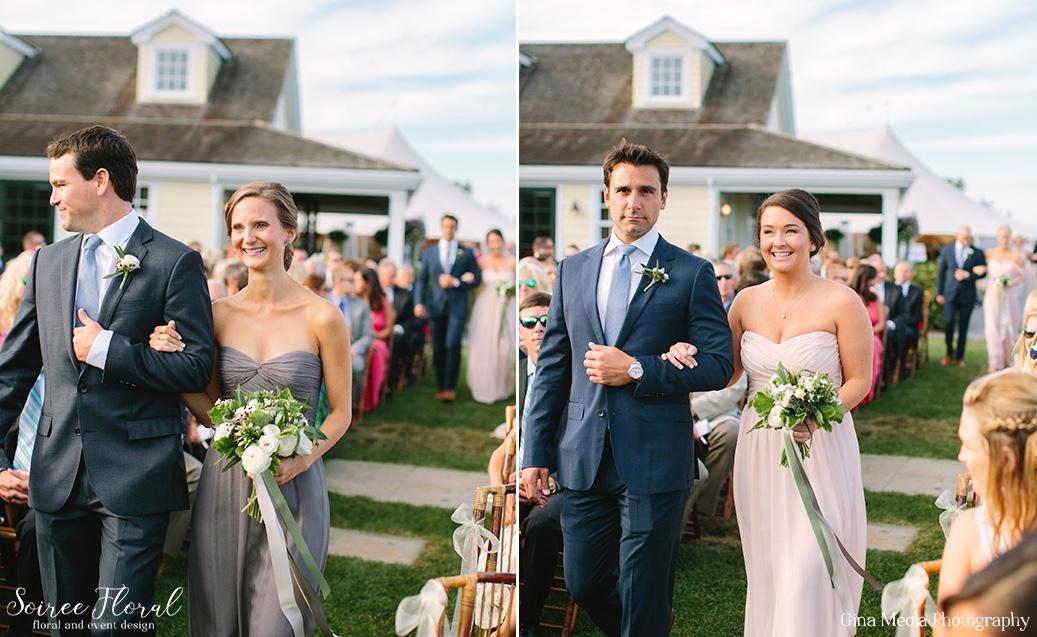 Amsale Bridesmaids Nantucket Wedding Soiree Floral 5