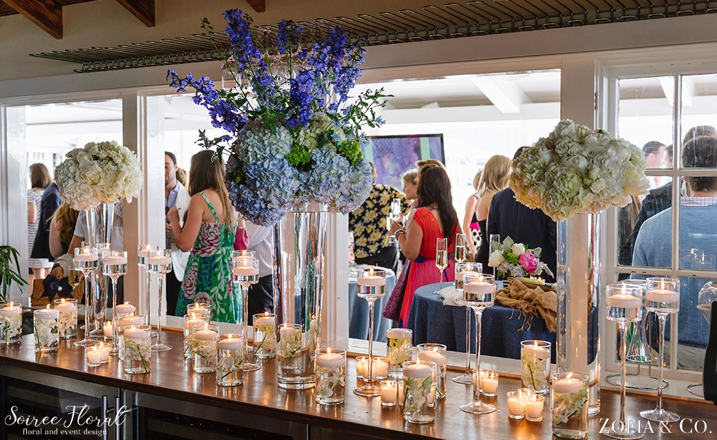 Galley Beach Rehearsal Dinner Soiree Floral CECI New York 5