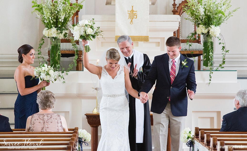 FCC Nantucket – Wedding Ceremony – White and Green – Ivy – Peonies – Hydrangea – Soiree Floral