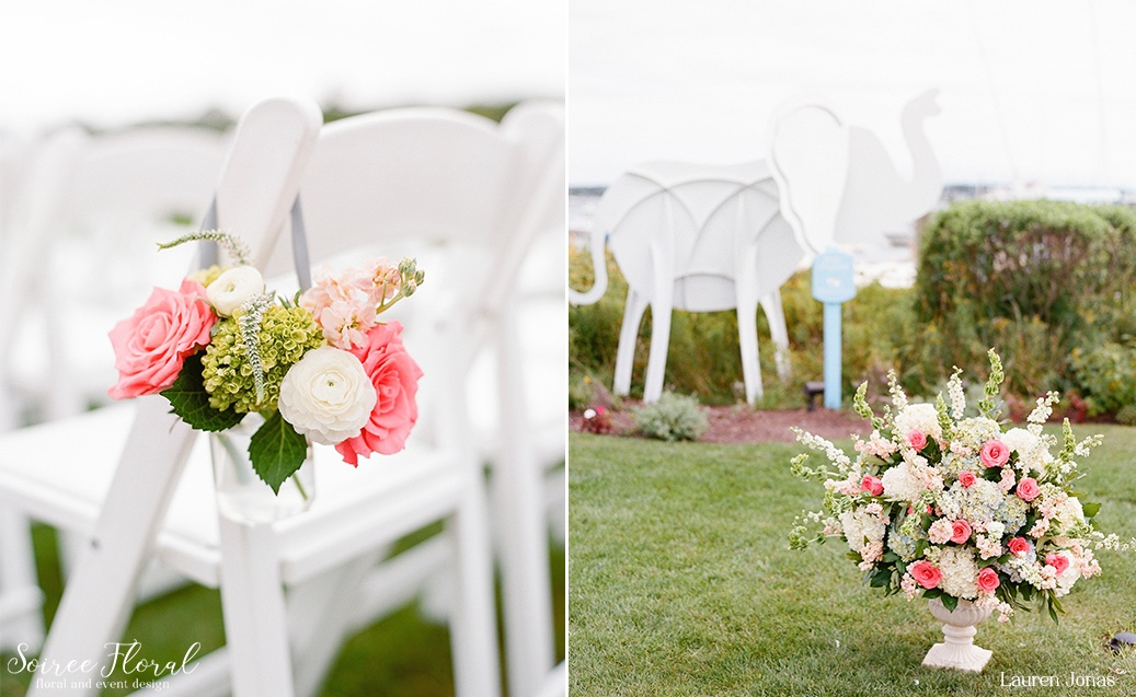Intimate Nantucket Wedding Soiree Floral 2