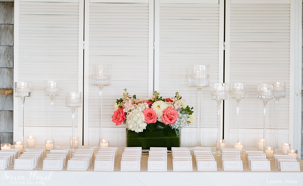 Intimate Nantucket Wedding Soiree Floral 6