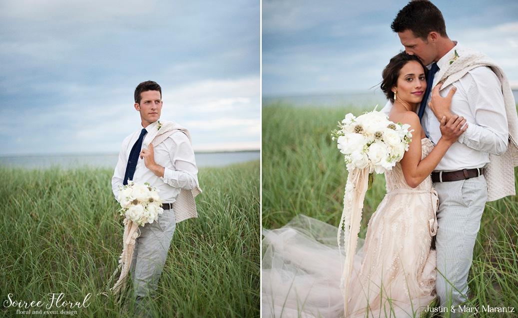Justin & Mary Marantz – Nantucket Photo Shoot – Soiree Floral 2