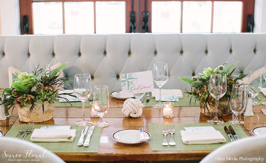 Rustic Rehearsal Dinner Flowers Soiree Floral Nantucket 2