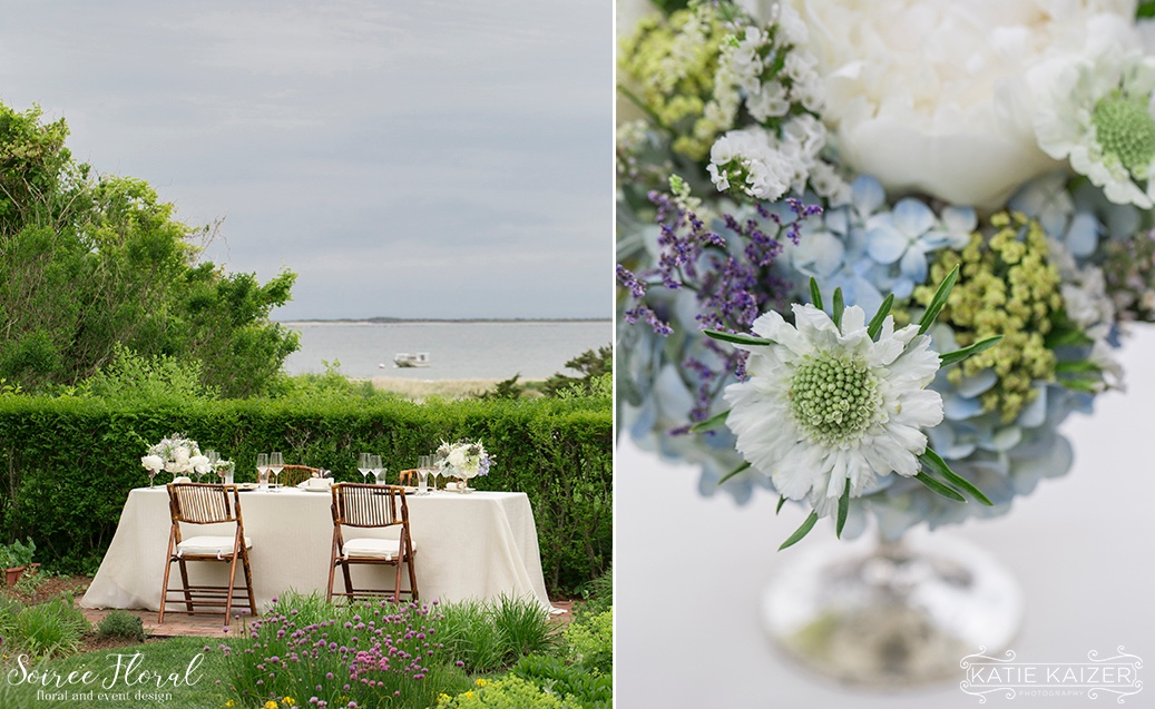 Southern New England Weddings Magazine Nantucket Shoot Soiree Floral 6