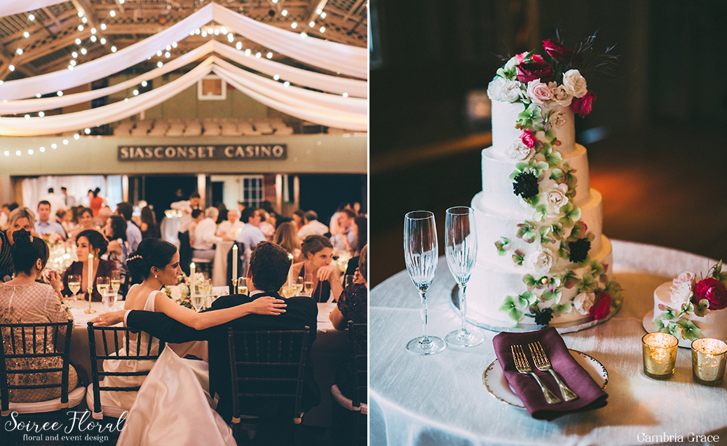 Moody Fall Nantucket Wedding Sconset Casino12
