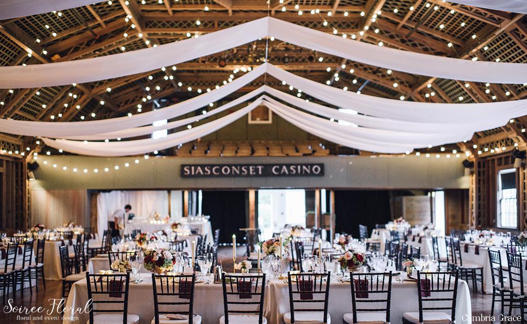 Moody Fall Nantucket Wedding Sconset Casino8