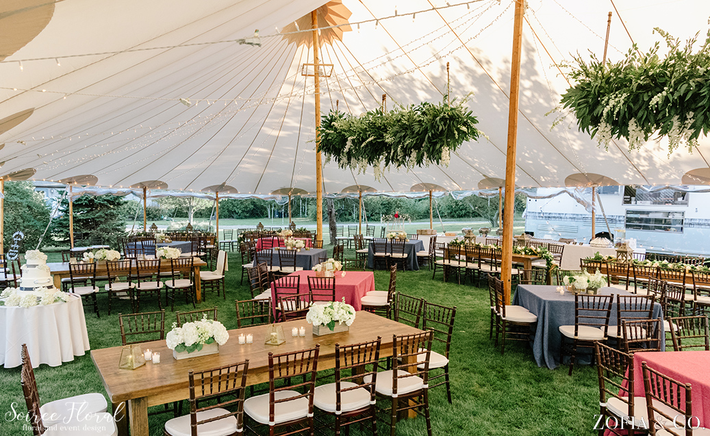 Nantucket Wedding Tent