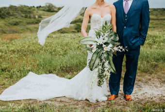 tropical nantucket wedding
