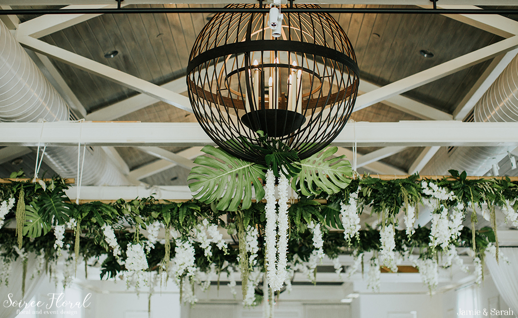 Tropical Inspired Nantucket Wedding14