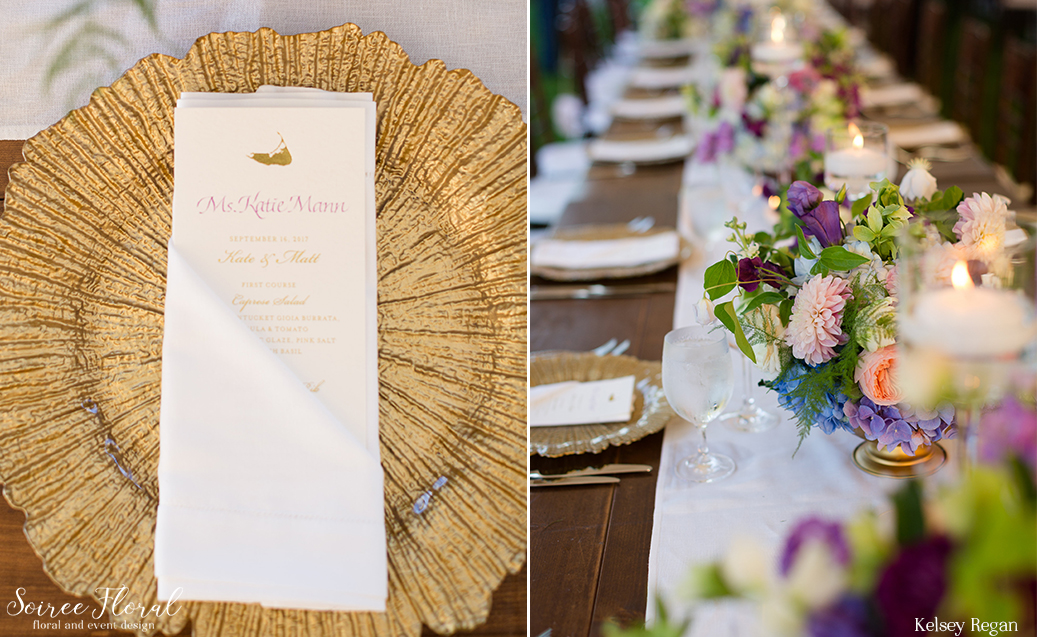 Farm Table Nantucket Wedding at Westmoor Club