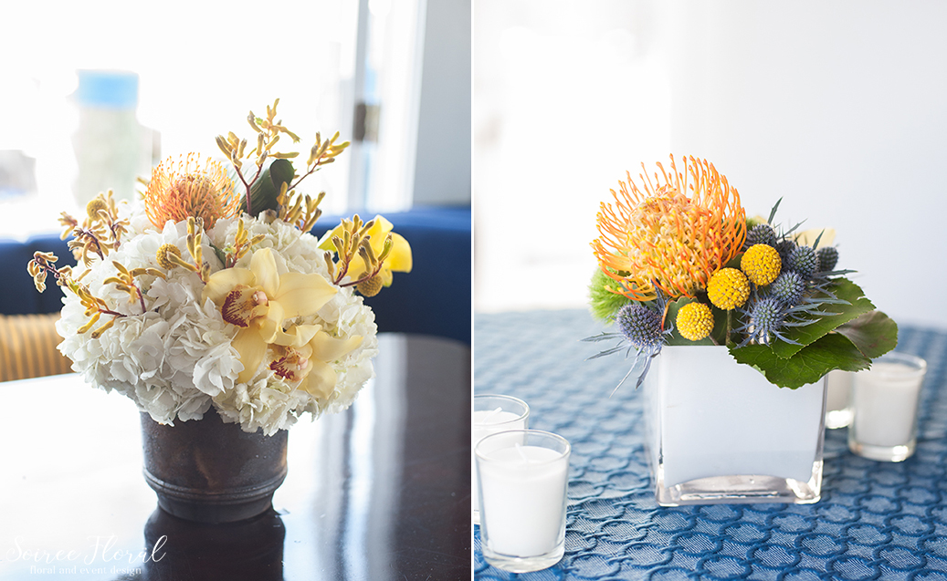 Modern Centerpieces – Nantucket Party