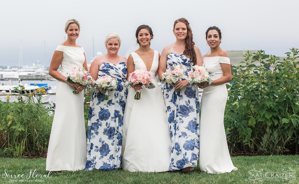 Nantucket Wedding – Bridesmaids