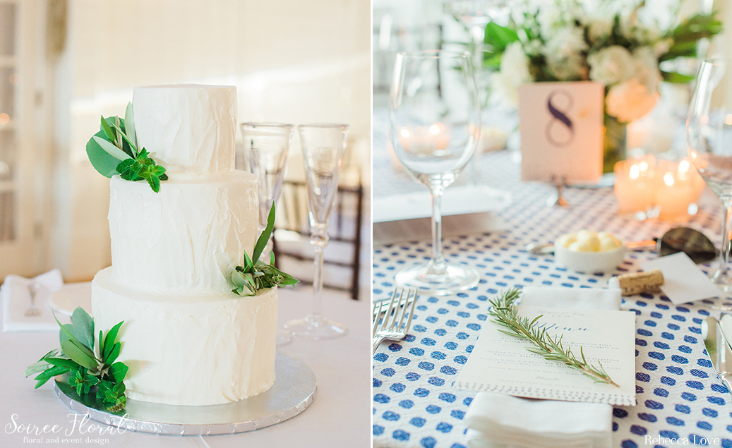 Nantucket Wedding Cake