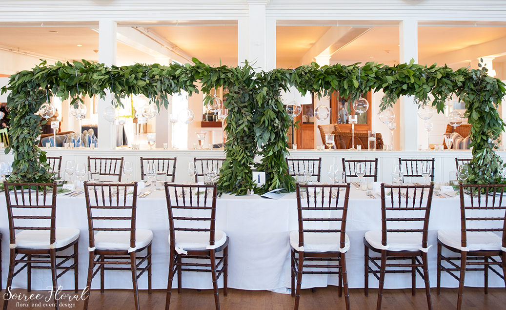 Nantucket Yacht Club Head Table