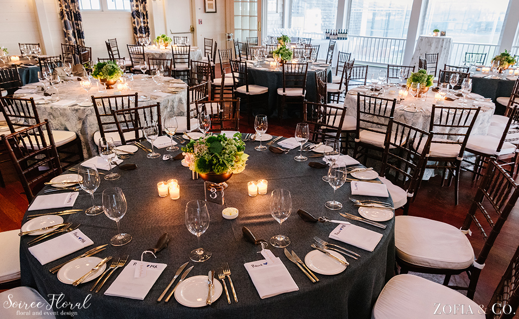 Nantucket Yacht Club Rehearsal Dinner Soiree Floral