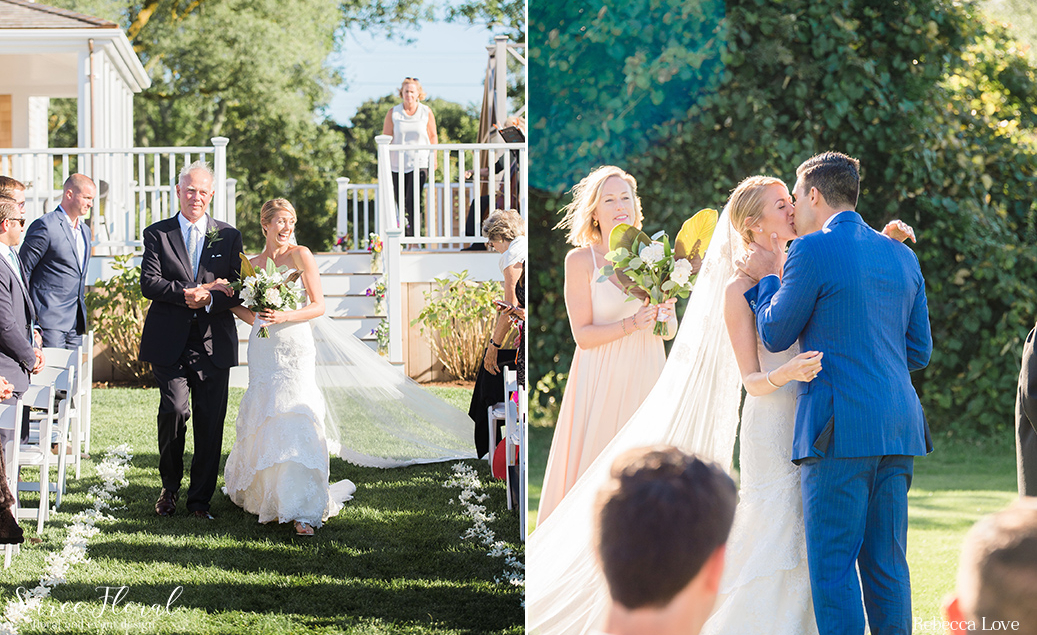 Outdoor Nantucket Ceremony