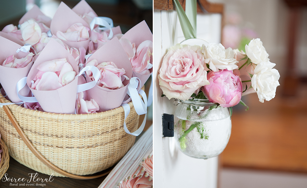 Petal Toss – Nantucket Wedding