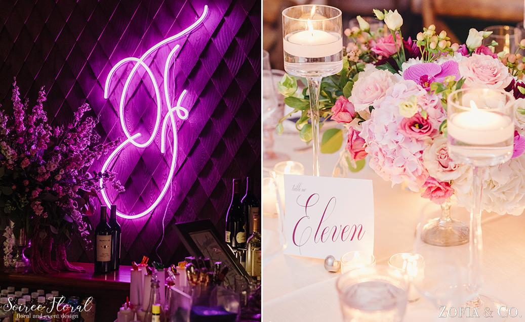 Pink Wedding – Custom Neon Light – Nantucket Wedding