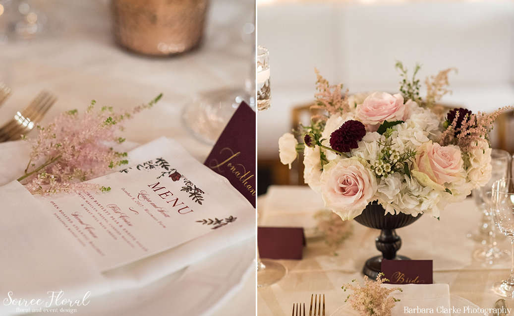 Burgundy and Blush Fall Wedding – Soiree Floral