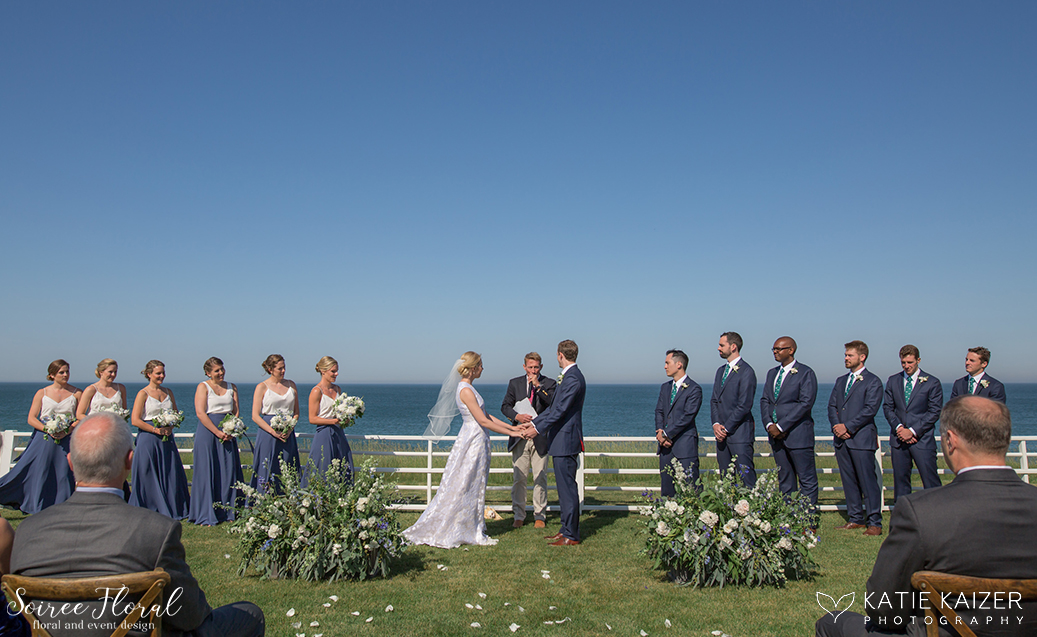 Sankaty Beach Club Ceremony – Nantucket Wedding