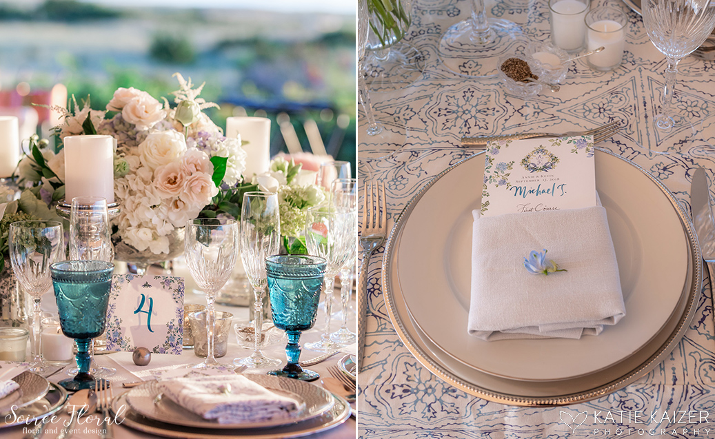 Blue and White Wedding at Wauwinet – Nantucket – Soiree Floral 14