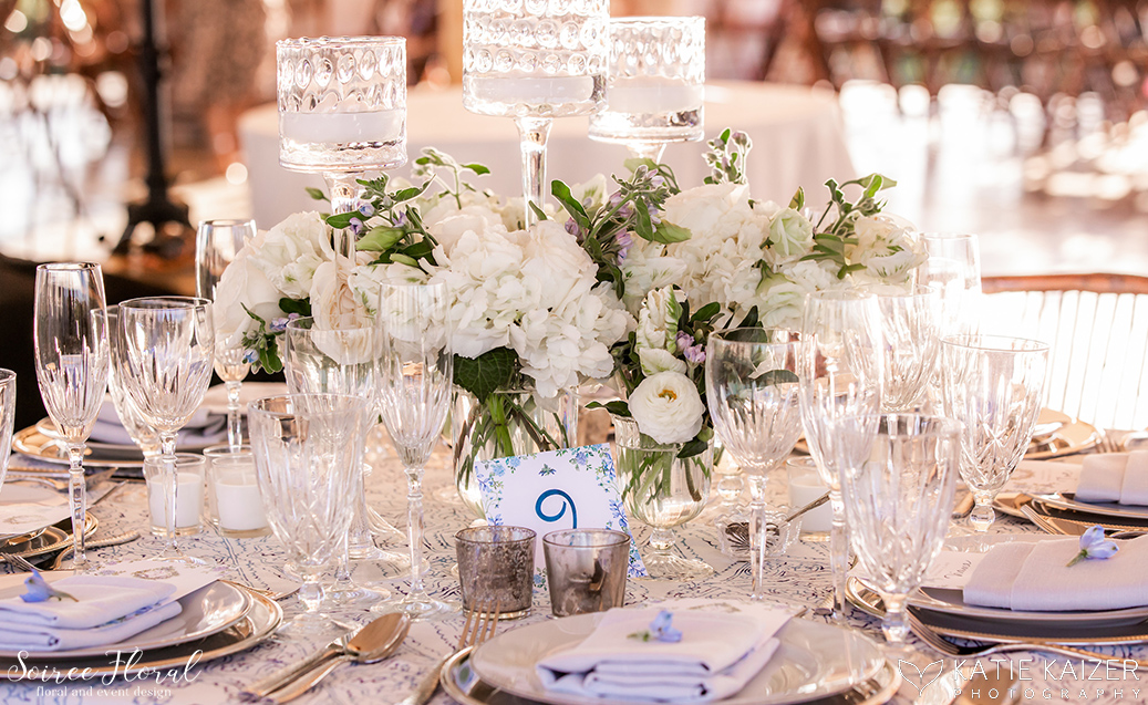 Blue and White Wedding at Wauwinet – Nantucket – Soiree Floral 15