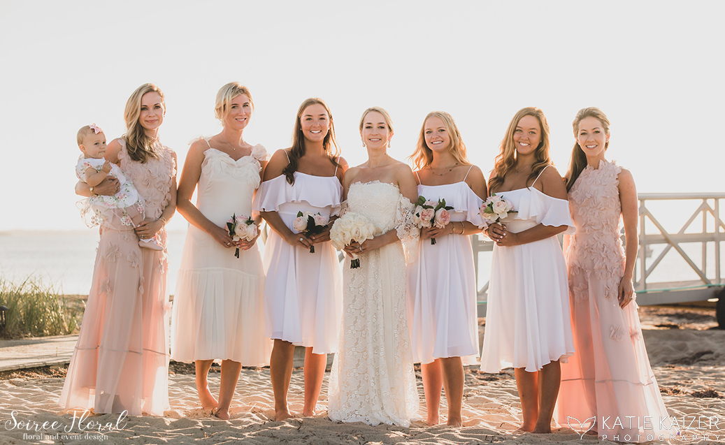 Blue and White Wedding at Wauwinet – Nantucket – Soiree Floral 16