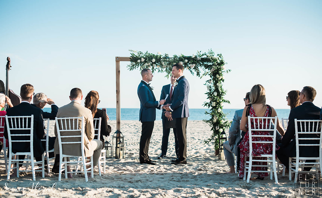 Green White and Black Wedding – Nantucket – Soiree Floral1